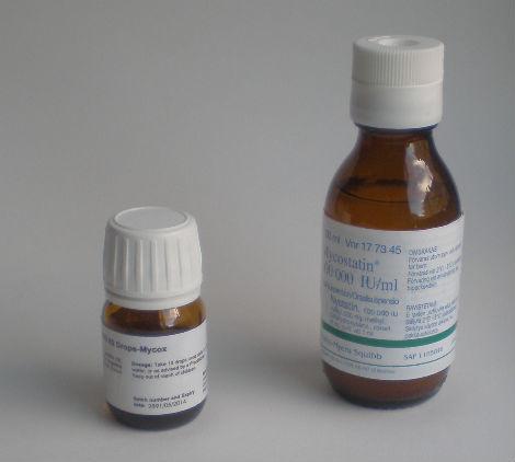 läkemedel mot svamp i munnen
